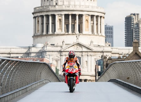 Marquez stunned the centre of London