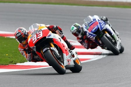Marquez didn't let Lorenzo get his way
