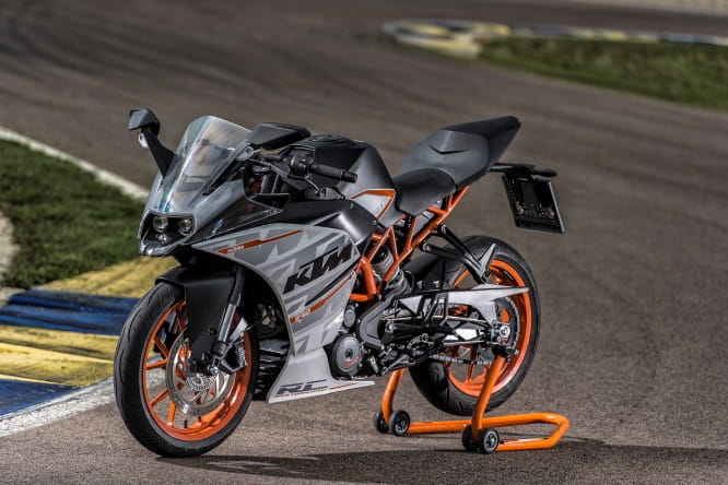 Handy on track and road, the smart RC390 is lot of bike for £4,999