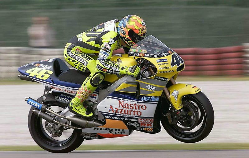 Rossi was the last 500cc champion
