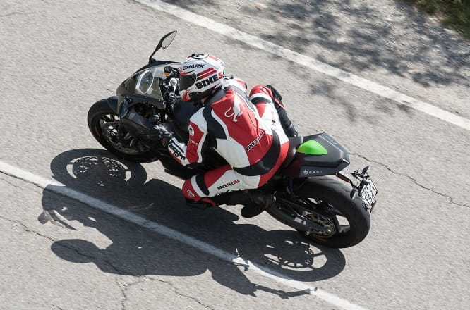 150mph electric superbike with a tonne of torque