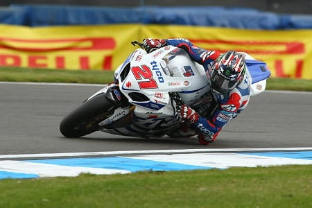 Hopkins found his form today at Donington Park