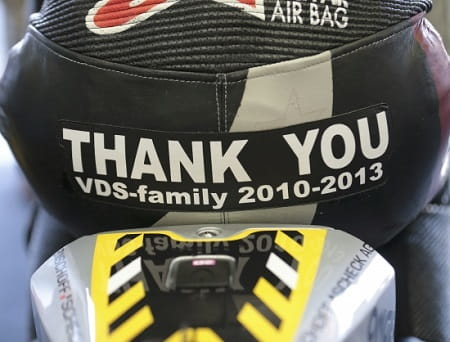 Redding enjoyed three years at Marc VDS