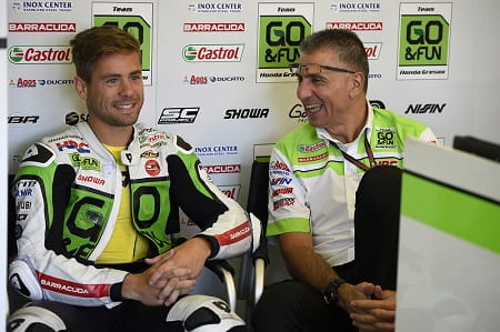 Bautista stays with Gresini, moves to Aprilia
