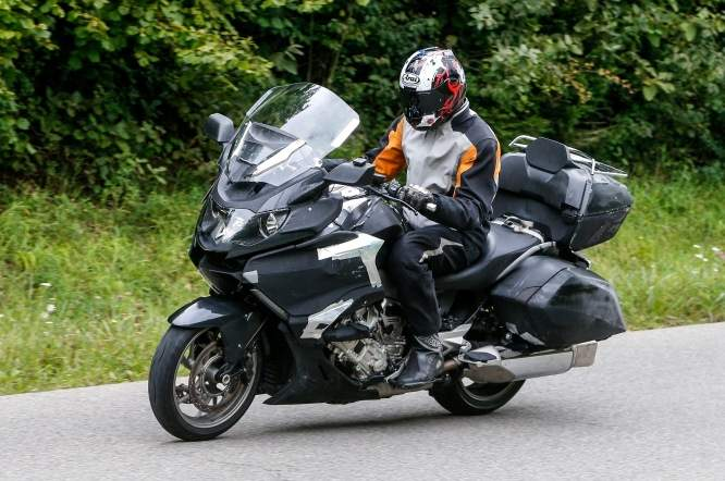 A big German man on a big German bike; meet the 2015 K1600GTL from BMW