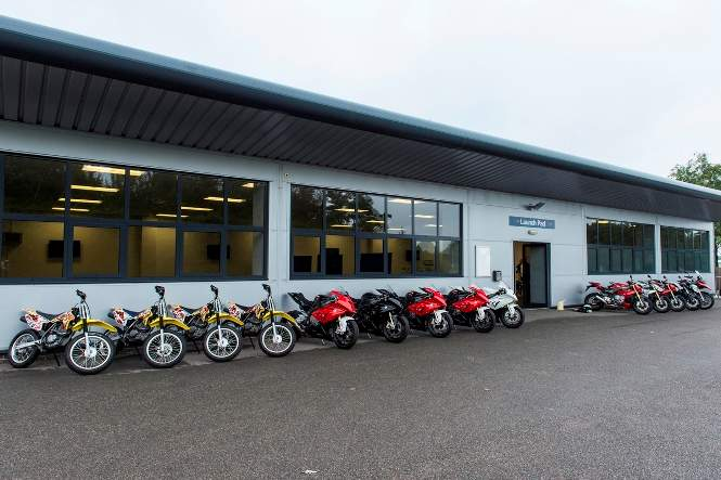 You'll ride one of each on the BMW Track & Road Experience Day