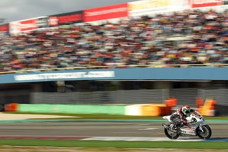 Rory finished an impressive third in front of the crowd at Assen