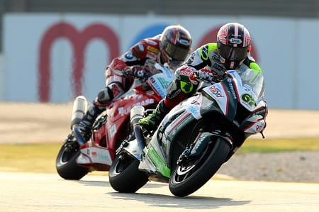 Byrne pipped Kiyonari to victory in Race 2