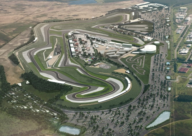 Stunning new Circuit of Wales, ready in mid-2016