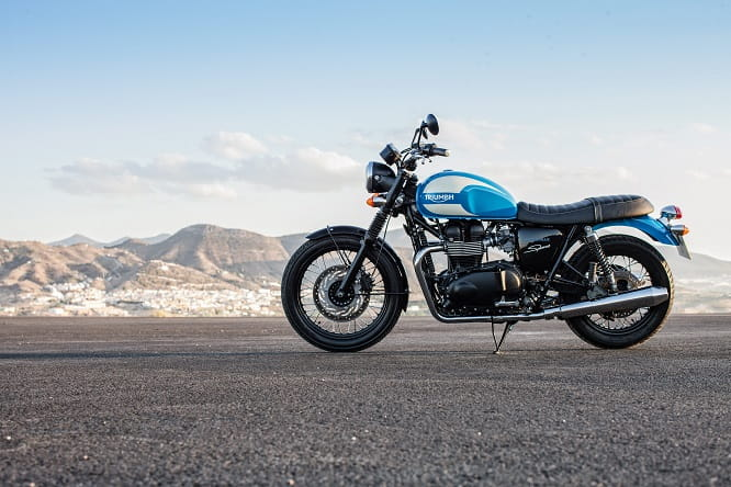 Triumph's new-for-2015 Bonneville Sprint