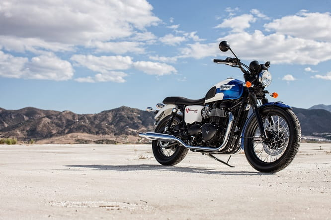 New special edition for 2015 - Triumph Bonneville T214