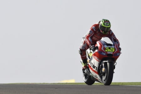 Crutchlow took his first Ducati podium