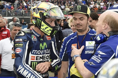 Rossi is 'OK' despite being hospitalised