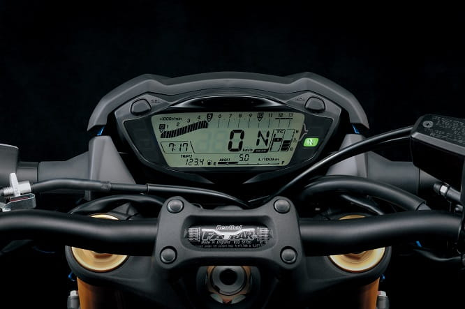 Suzuki GSX-S1000 instrument panel