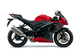 GSX-R1000 also available in red