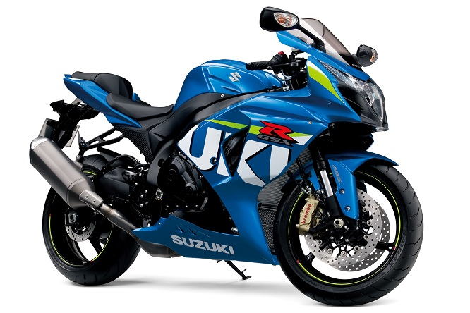 Suzuki's new-for-2015 paint scheme based on the MotoGP bike