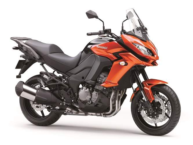 New for 2015: Kawasaki Versys1000