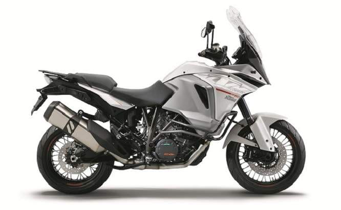 KTM 1290 Super Adventure, with many bells and whistles