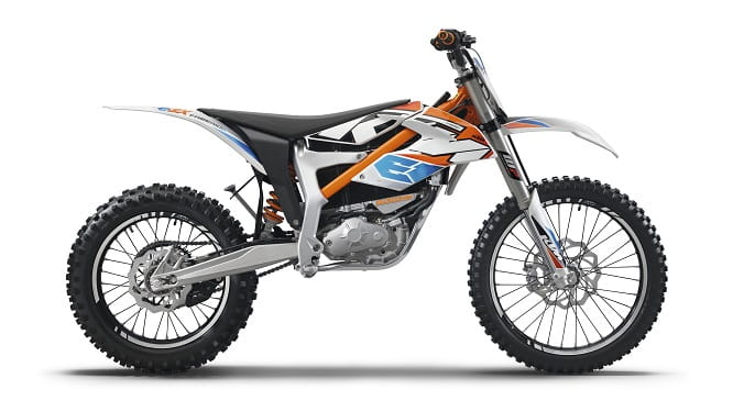 KTM show off three new electric Freerides