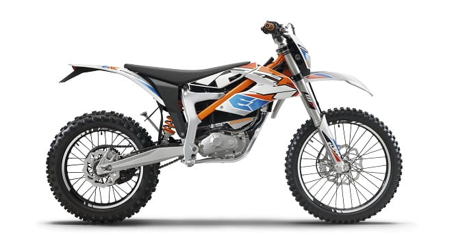 KTM Freeride E-XC in action