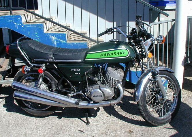 1972 Kawasaki H2 750 Mach IV Pictures - 1972 Kawasaki H2 750 Mach ...