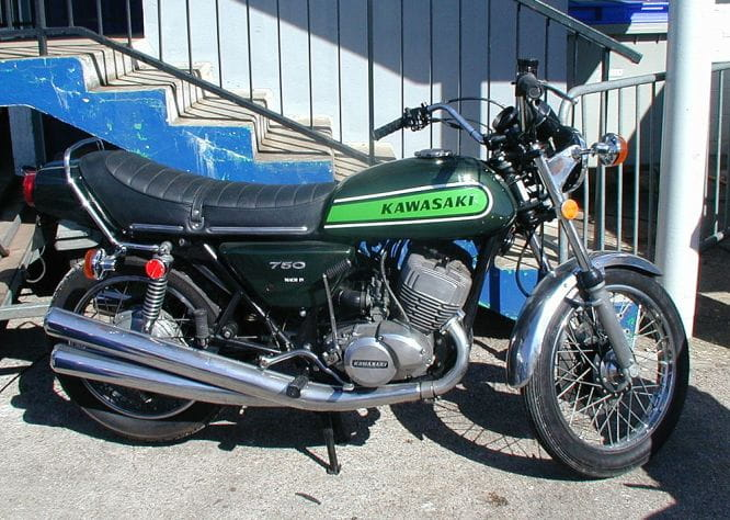 The original Kawasaki H2 aka The Widow Maker