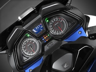 Forza 125 instrument panel