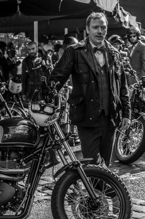 Comedian Rufus Hound at the DGR London