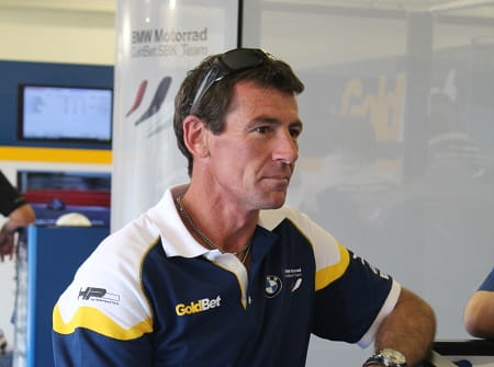 Corser will take over as the team's 'Sporting Director'