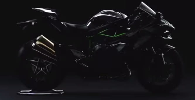 Ninja H2 road-version - just the 250bhp for £25k