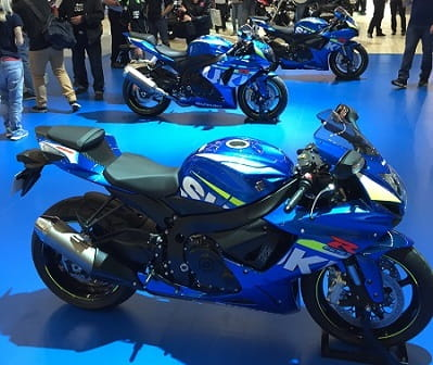 The smaller GSXRs will also get the MotoGP livery