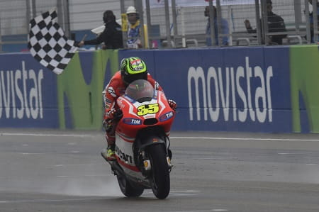 Crutchlow took his first Ducati podium in Aragon