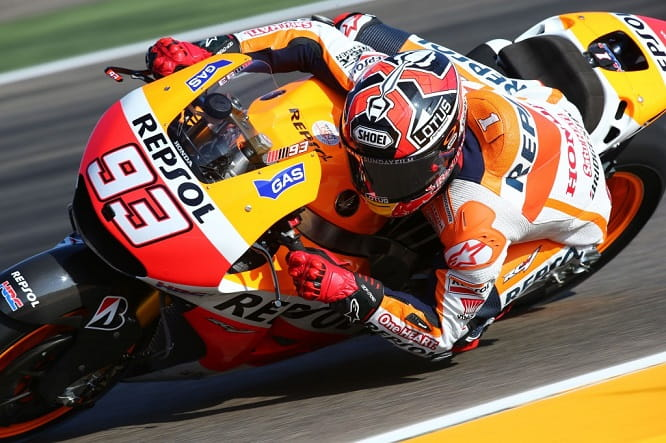 Marc Marquez could take the title in Japan