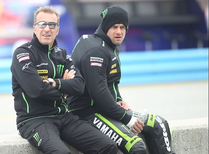 Herve Poncheral, Monster Tech 3 Yamaha boss, the man who signed wooly hat wearing Crutchlow