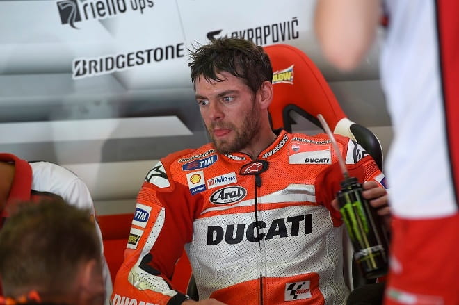 Crutchlow took a risk and it paid off
