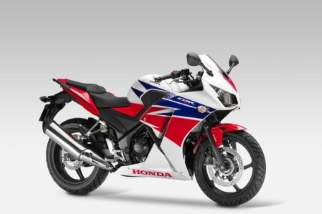 In the Red, Blue and White corner: Honda CBR300R