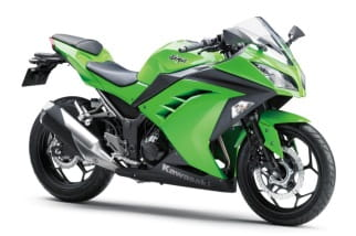 And in the Green corner: Kawasaki Ninja 300