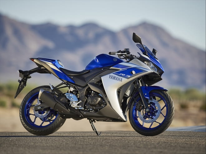 Styling inspired by the R1 and R6, the new R3 certainly looks the part