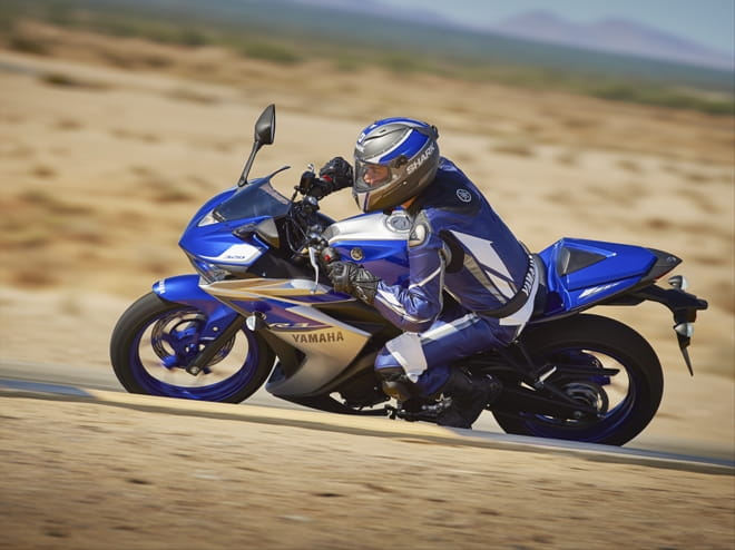 Yamaha's new R3, available from April 2015