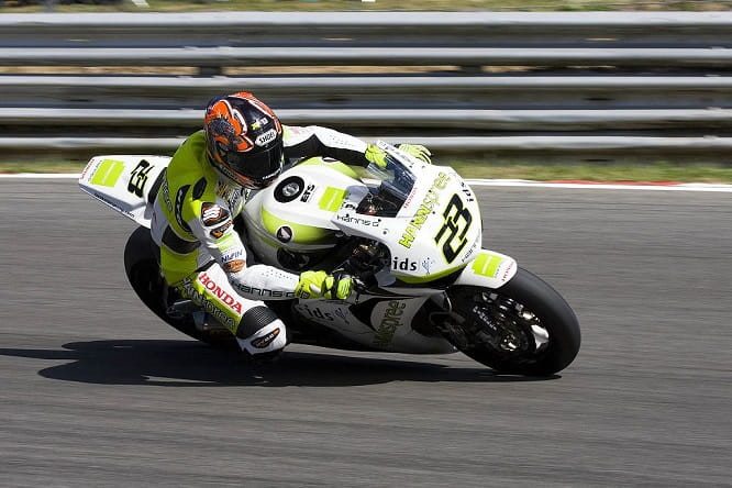 Kiyo in his WSBK days