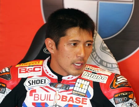 Kiyonari fractured his collarbone