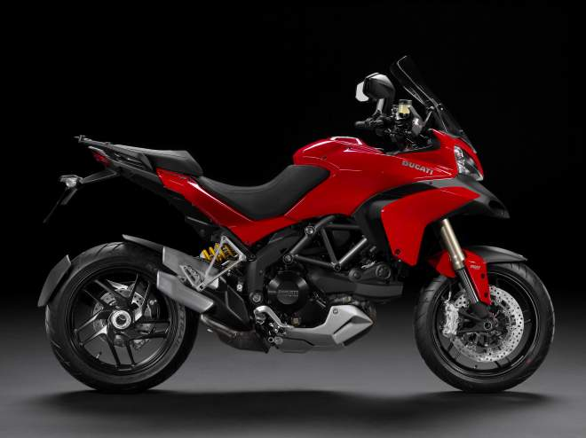 The current Multistrada 1200S