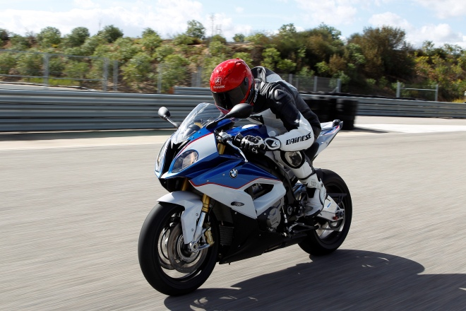 BMW's S 1000 RR produces nearly 200bhp