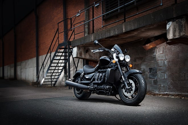 2.3-litres of Triumph's Rocket III seen here as the Rocket X version.