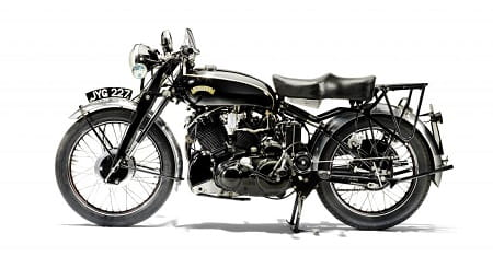The fastest machine of its time, Vincent's Black Shadow