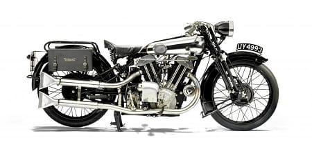 The stunning Brough Superior SS100 Grand Alpine Sports