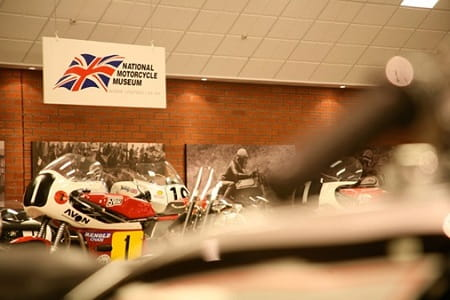 The National Motorcycle Museum will open its doors on Saturday