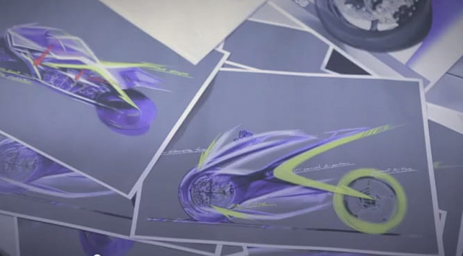 Sketches of the new R1, apparently