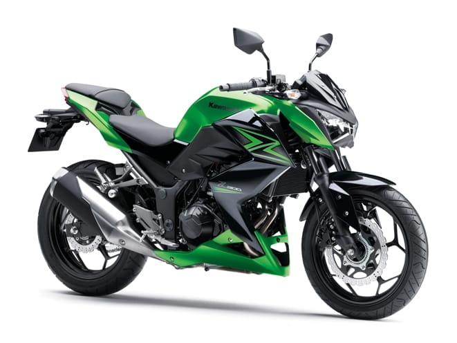 Z300 Kawasaki, also known as the Naked Ninja