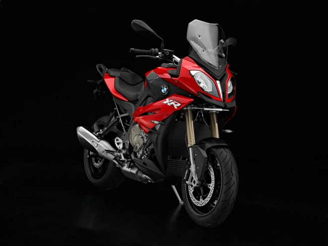 S1000XR, no longer carrying the signature asymmetrical headlights